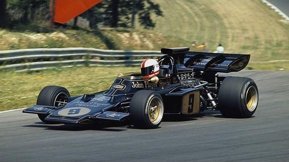 1972 British Grand Prix. Brands Hatch, England. 13-15 July 1972. Dave Walker (Lotus 72D Ford). Ref-72 GB MF01. World Copyright - LAT Photographic